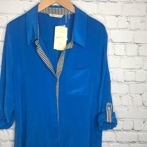 {Soft Surroundings} sz L silk sensation shirt NWT